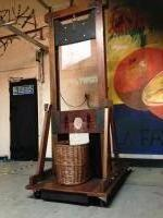 French Guillotine Illusion Prop Hire from The Props List