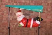 Illuminated Paragliding Santa Prop Hire from The Props List