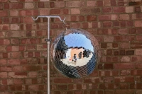 Mirror Ball 51cm Prop Hire from The Props List