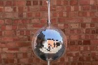 Mirror Balls 30cm Prop Hire from The Props List