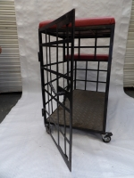 Dungeon - Metal Cage Prop Hire from The Props List