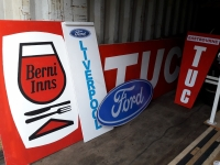 Signs for Made in Dagenham Prop Hire from The Props List
