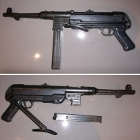 MP40, 9mm Submachine Gun Prop Hire from The Props List