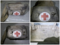 WW2 Medic Bag Prop Hire from The Props List