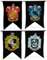 Harry Potter House banners Prop Hire from The Props List