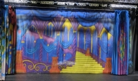 Ballroom backdrop Prop Hire from The Props List
