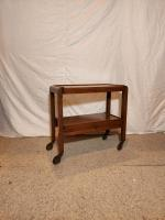 Wooden tea trolley/ Table Prop Hire from The Props List