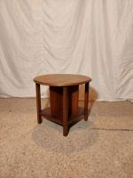 round side table with dividers Prop Hire from The Props List