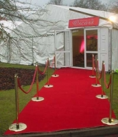 red carpet, post and rope Prop Hire from The Props List