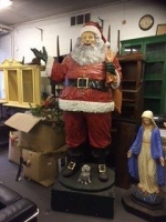 Large Father Christmas Prop Hire from The Props List