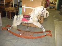 Large Rocking Horse Prop Hire from The Props List
