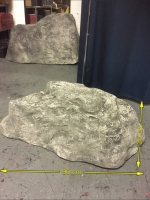 Large fibreglass rocks Prop Hire from The Props List