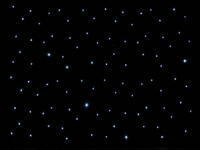 Star Curtains Prop Hire from The Props List